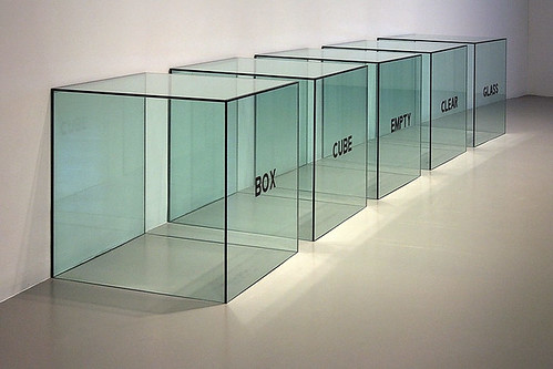 Box/Cube/Empty/Clear/Glass by photoalternative