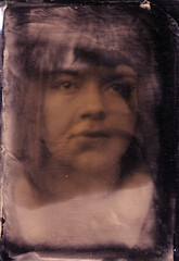 Sara (Witness to Light) Tags: uk portrait ambrotype alternative glassnegative alternativeprocess altprocess collodion wetplatecollodion witnesstolight