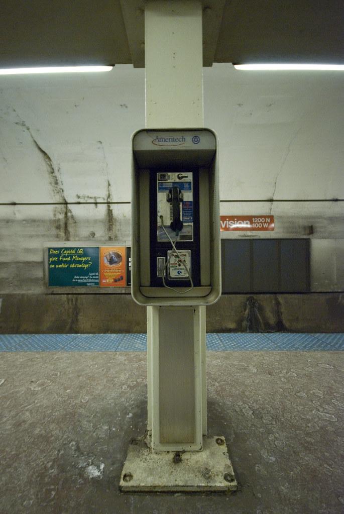 Broken Payphone