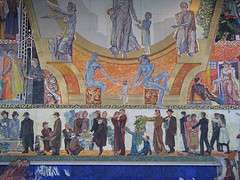 Radhus, Grand Central Hall (Buster&Bubby) Tags: oslo norway murals worldwarii nobel radhus nobelpeaceprize henriksrensens oslocityhall grandcentralhall administrationandfestivity