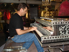 Liberace's piano Las Vegas Site Seeing with Dean Lindsay (taken on down time while speaking at conference in Las Vegas) (deanlindsay2009) Tags: austin video lasvegas piano sparkle 2009 association 2010 liberace siteseeing networkmarketing 2011 changemanagement getajob businessgrowth managementspeaker customerretention topspeakeronsales sellinginadowneconomy conventionbreakoutspeaker bestbusinessnetworkingbook leadershipspeakerforbusiness keynotechangemanagementspeaker changemangagementbook2009 topchangemanagementspeaker dallaskeynotespeaker progressleadershipbook leadershipkeynotespeaker dallaschangemangementspeaker texassalesspeaker crackingthenetworkingcode icehotelbar motivationalkeynotespeaker changemanagementspeaker dallascustomerservicetraining nationalhumorousspeaker nationalcustomerservicespeaker nationalleadershipspeaker videoofspeaker videoofleadershipspeaker videoofchangemanagementspeaker freebusinessnetworkingtips businessnetworkingadvice networkingadvice dallassalesworkshop dallassellinginadowneconomy dallascorporatetrainer customerservicevideo funnycustomerservicespeaker humorouscustomerservicespeaker internationalcustomercare associationspeaker associationsalesspeaker stateassociationspeaker doingbusinessintoughtimes