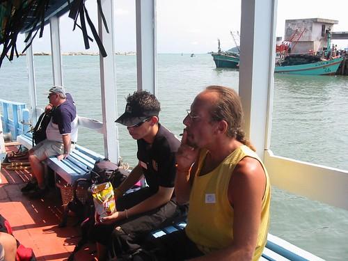 Luieren op de ferry