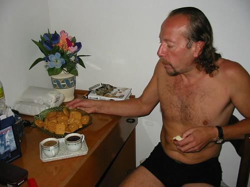 droge koekjes als ontbijt
