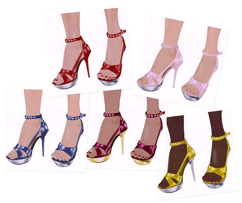 SLINK 'Glamour Platforms' by you.