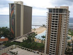 Hilton Hawaii Village Rainbow Tower (MelanieFineEVI - Excellent Vacation Ideas) Tags: hiltonhawaiianvillage rainbowtower hawaiivacation excellentvacationideas hhvhotel