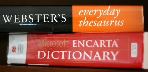 my new dictionary and thesaurus