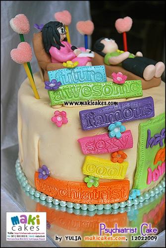 Psychiatrist Cake- Maki Cakes