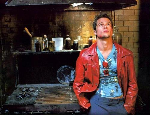 brad pitt fight club pics. Fight Club. Brad Pitt