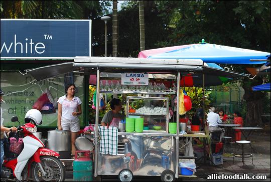Penang Hill Laksa Stall