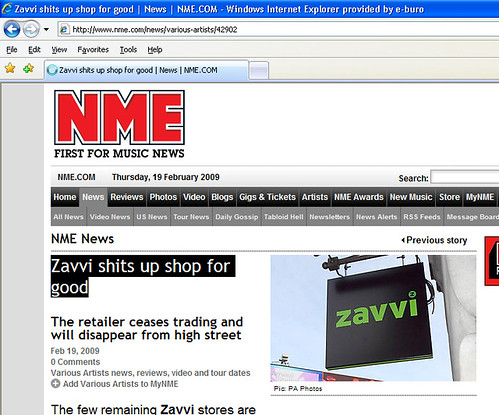 NME typo