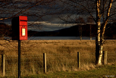 Post card from Scotland .... (Nicolas Valentin) Tags: red landscape scotland scenery post loch trossachs achray anawesomeshot colorphotoaward
