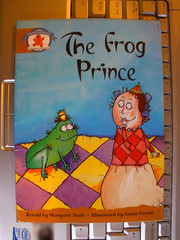 Lovely illustration in The Frog Prince