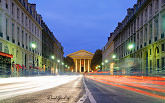 Rush Hour on Rue Royale | DRI (David Giral | davidgiralphoto.com) Tags: street paris france water fountain night evening place dusk concorde madeleine rue fontaine rivoli royale