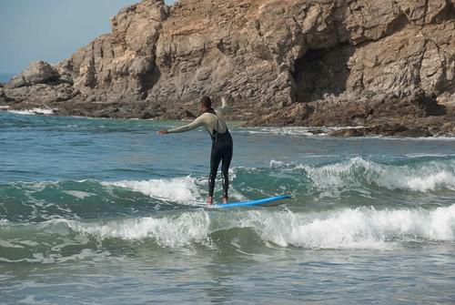 Surf Instruction at Cerritos