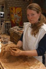 DSC_8455 (TheBosque) Tags: mask crafts meg masks clay pottery michoacan crafting barro yah cumbre alfareria unconference ideasfestival temporaryautonomouszone ideafestival macaras artanesia artanesias