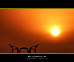 Sunset Behind Toy Chair Set (2/2) - North Karachi (Anas Ahmad) Tags: north ahmad karachi ahmed forcedperspective anas anasahmad anasahmadphotography