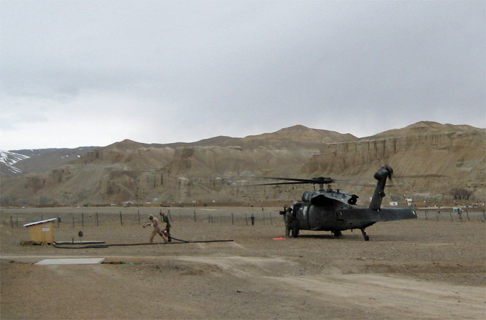 Blackhawk in Bamian