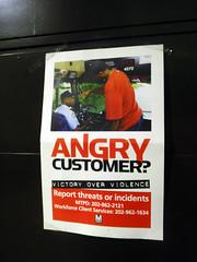 Cliente enfadado?