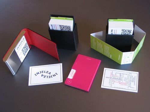 MOO Visitenkarten und Etuis