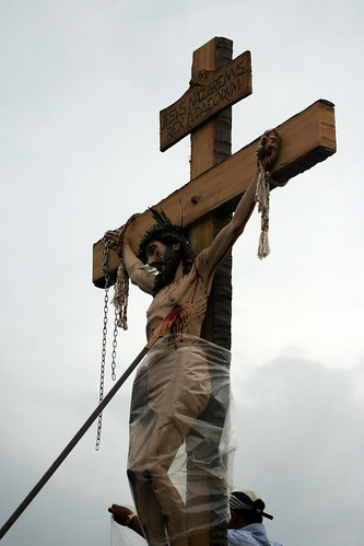 Bantayan Good Friday tableau