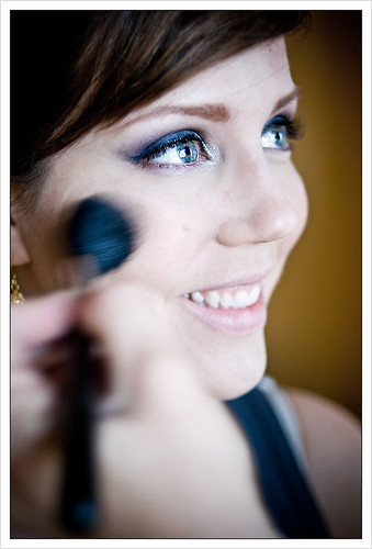 Wedding bridesmaid eyeshadow eyelash makeup pictures gallery