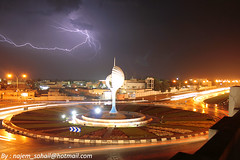 ...       (!  ) Tags: thunderstorm lightning thunder atmospheric doha qatar  discharge  alwakra   qatari quatar alwakrah    quatari