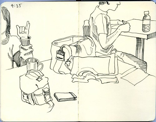 bozeman sketchcrawl: wild joe's coffee 02
