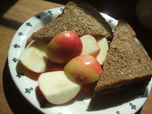 PBHB (pecan butter, honey and banana)