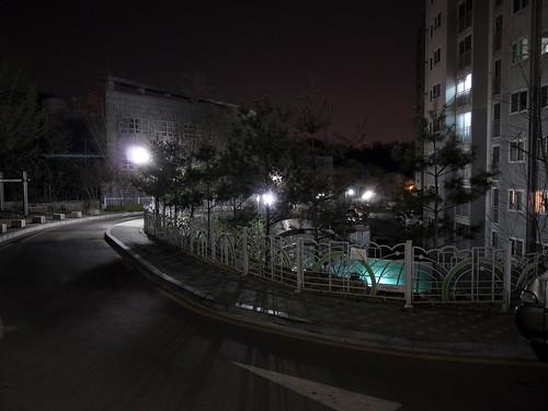 거리의 야경... 1