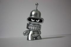 Bender FatCap (WuzOne) Tags: toys cartoon vinyl kidrobot custom dunny fatcap munny wuzone artoysbender
