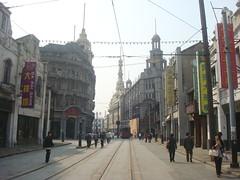 Walking into the past (Canadian Dragon) Tags: china street shanghai oldshanghai moviestudio
