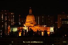 Alberta Legislative Building at Night (Hallbadorn) Tags: night canon edmonton photos 10 alberta million legislative 10millionphotos