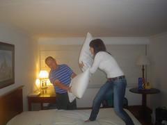pelea en el hotel