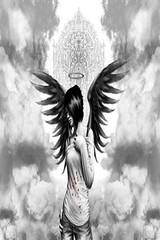 Emo Angel Girl - Wallpaper 4 Apples iPhone