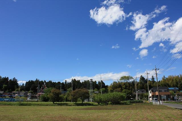 笠幡西部の火の見櫓(川越市)