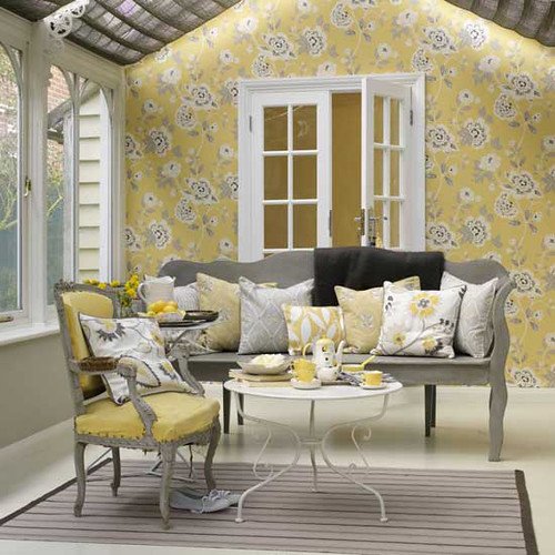 Yellow and Grey 1 housetohome inspiration