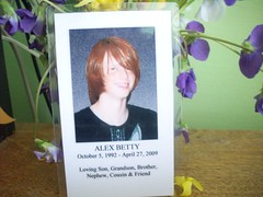 Rest In Peace, Alex Betty. (Owl Eyes*) Tags: angel redhair caraccident sarcastic restinpeace beautifulsmile milfordnh alexbetty