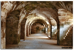 Arcos de la Mola II (El Galeno) Tags: sea espaa canon eos mar spain mediterranean mediterraneo menorca ma bal