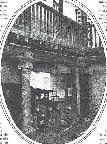 Posada de la Sangre (Toledo) en 1930. Foto Benitez Casaux para Revista Estampa