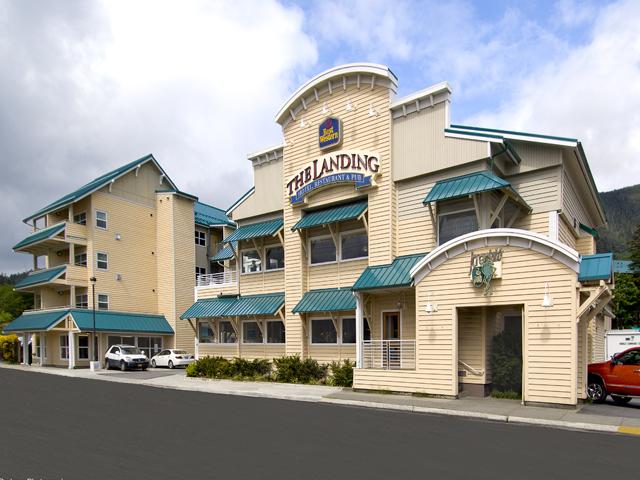 Ketchikan''s Landing Hotel