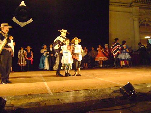 Tercer Lugar en Danzas Representativas de la Región