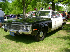 1973 AMC Matador (splattergraphics) Tags: policecar amc 1973 carshow matador downspark americanmotors adam12 pasadenamd baycountryregionvcca
