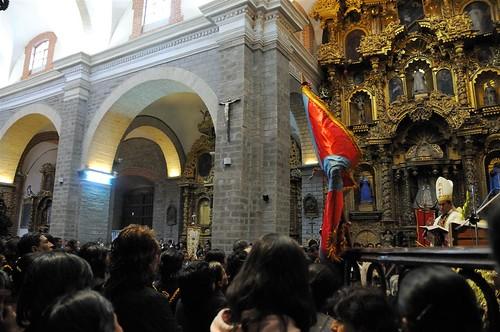Santa Misa en quechua en la Basílica Catedral