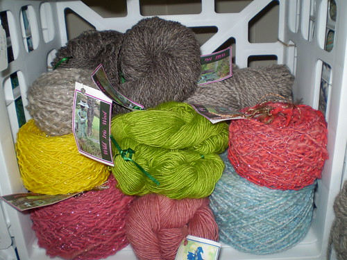 New Yarns from Linda Wright!