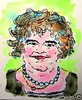 Susan Boyle with Beads #5