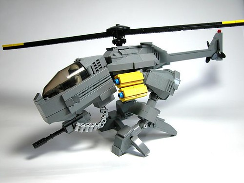 LEGO dragonfly mecha helicopter