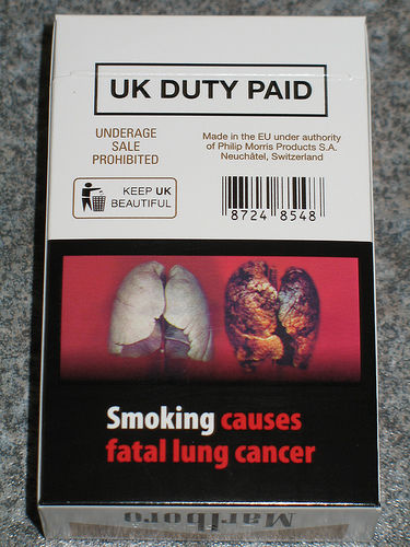 UK cigarette warnings kick ass!
