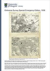 Maps of Glasgow: Historical to Digital (University of Glasgow Library) Tags: scotland map glasgow maps 1938 special emergency survey ordnancesurvey ordnance universityofglasgow