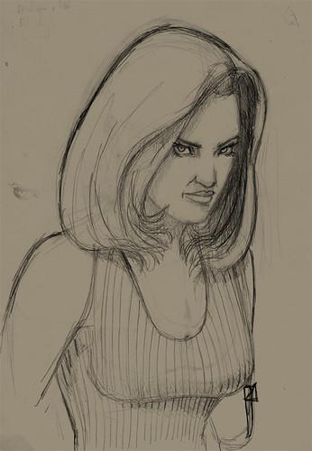 chica pelo largo 01