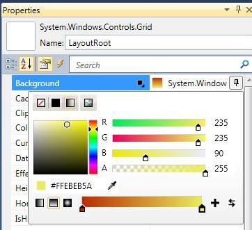 Editor de Brochas en Visual Studio 2010